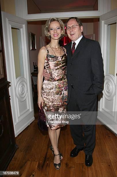 Mareike Carriere Und Ehemann Gerd Klement Bei Couple Of The Year Im Louis C Jacob In Hamburg