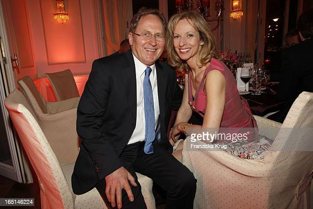 "Mareike Carriere Und Gerd J Klement Bei Der Verleihung ""Couple Of The Year"" Im Hotel Louis C. Jacob In Hamburg ."