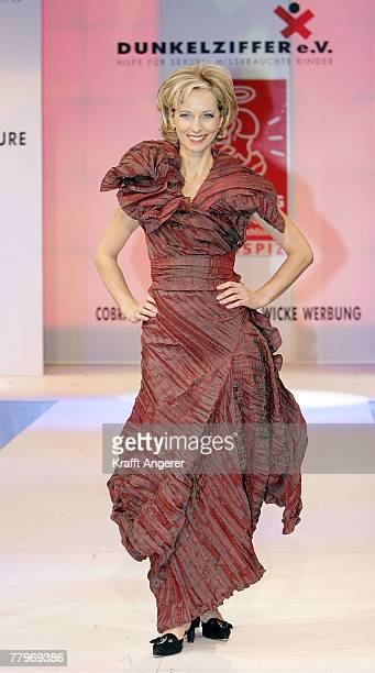 Mareike Carriere walks down the runway at the Event Prominent Gala on November 18 2007 in Hamburg Germany For the seventh time celebrities walk on...