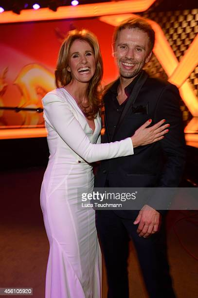 Mareile Hoeppner and Arne Schoenfelder attend the Tribute to Bambi 2014 at Station on September 25 2014 in Berlin Germany