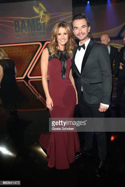 Mareile Hoeppner and Florian Silbereisen during the 'Tribute To Bambi' gala at Station on October 5 2017 in Berlin Germany