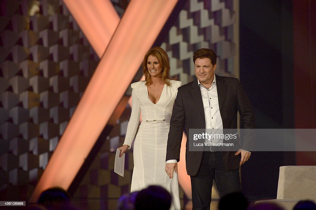 Mareile Hoeppner and Francis Fulton-Smith attend the Tribute To Bambi 2014 - Show at Station on September 25, 2014 in Berlin, Germany.