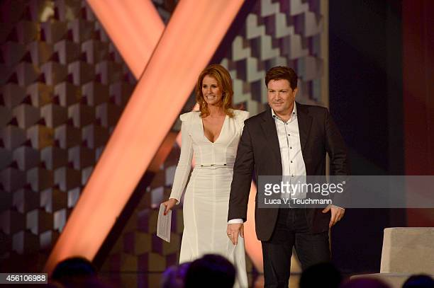 Mareile Hoeppner and Francis FultonSmith attend the Tribute To Bambi 2014 Show at Station on September 25 2014 in Berlin Germany