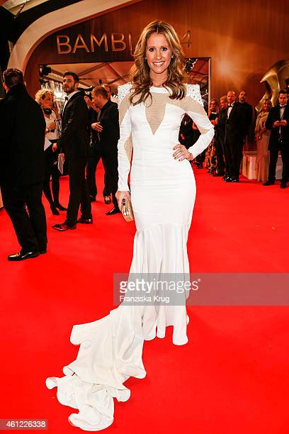 Mareile Hoeppner arrives at the Bambi Awards 2014 on November 13 2014 in Berlin Germany