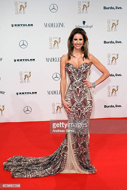 Mareile Hoeppner arrives at the Bambi Awards 2016 at Stage Theater on November 17 2016 in Berlin Germany