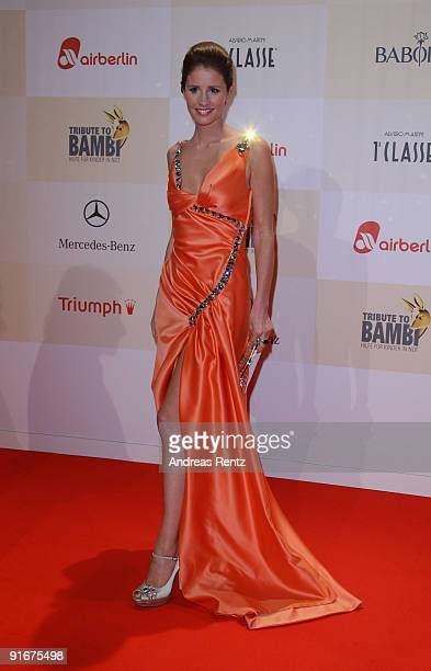 Mareile Hoeppner arrives for the 'Tribute To Bambi 2009' at The Station on October 9 2009 in Berlin Germany