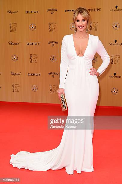 Mareile Hoeppner attends the Bambi Awards 2015 at Stage Theater on November 12 2015 in Berlin Germany