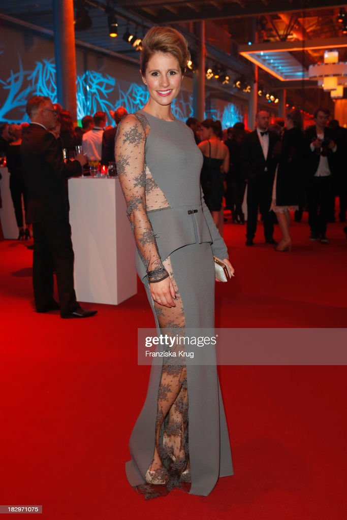 Mareile Hoeppner attends the Deutscher Fernsehpreis 2013 - After Show Party at Coloneum on October 02, 2013 in Cologne, Germany.