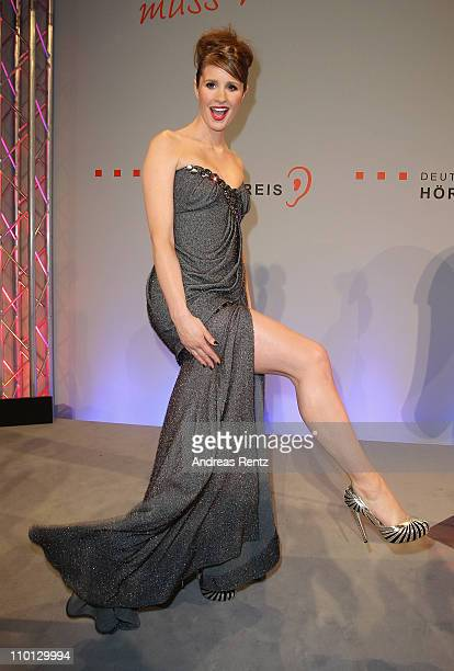 Mareile Hoeppner attends the 'Deutscher Hoerfilmpreis 2011' at the Atrium Deutsche Bank on March 15 2011 in Berlin Germany