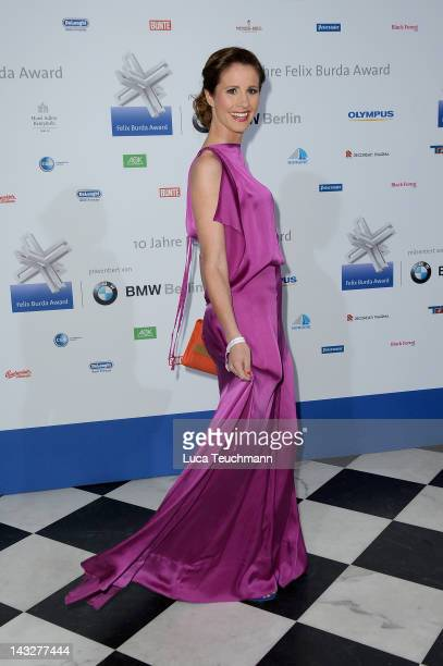 Mareile Hoeppner attends the Felix Burda Award Gala 2012 at Hotel Adlon on April 22 2012 in Berlin Germany