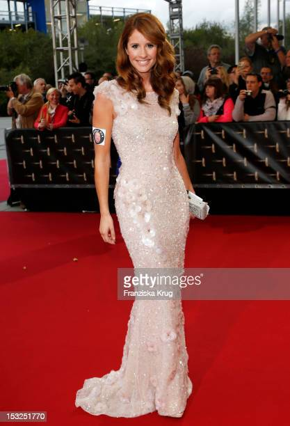 Mareile Hoeppner attends the German TV Awards 2012 at Coloneum on October 2 2012 in Cologne Germany