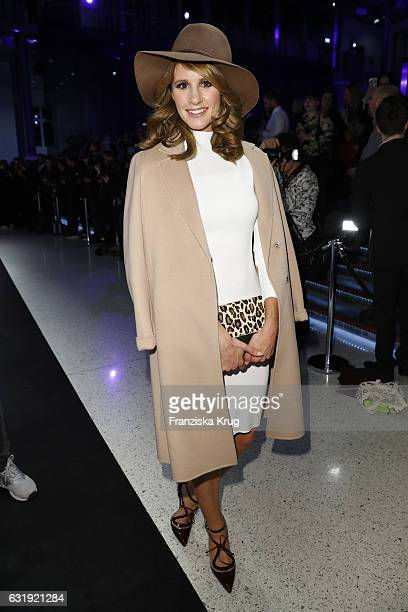 Mareile Hoeppner attends the Marc Cain fashion show A/W 2017 at Deutsche Telekom representation on January 17 2017 in Berlin Germany