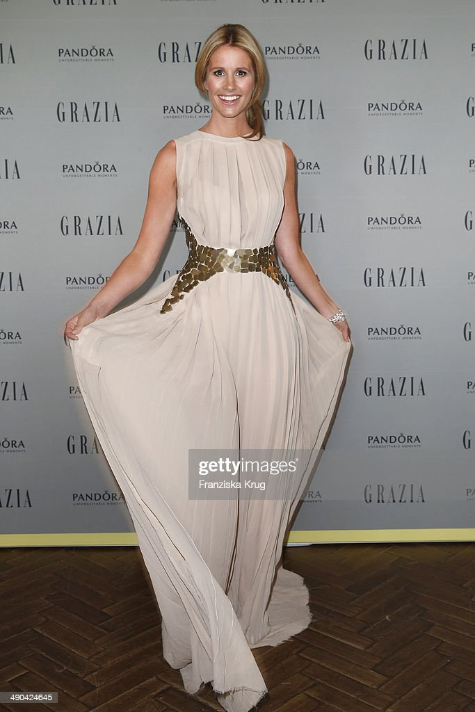 Mareile Hoeppner attends the Pandora At Grazia Best Dressed Award at Soho House on May 14, 2014 in Berlin, Germany.