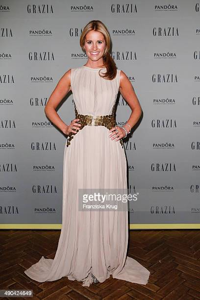 Mareile Hoeppner attends the Pandora At Grazia Best Dressed Award at Soho House on May 14 2014 in Berlin Germany