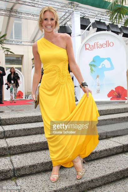 Mareile Hoeppner attends the Raffaello Summer Day 2014 at Kronprinzenpalais on June 21 2014 in Berlin Germany