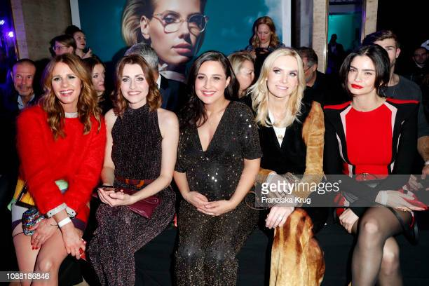 Mareile Hoeppner Bella Lesnik Nina Moghaddam Vanessa Birkenstock and Shermine Shahrivar during the Rodenstock Eyewear Show 'A New Vision of Style' at...