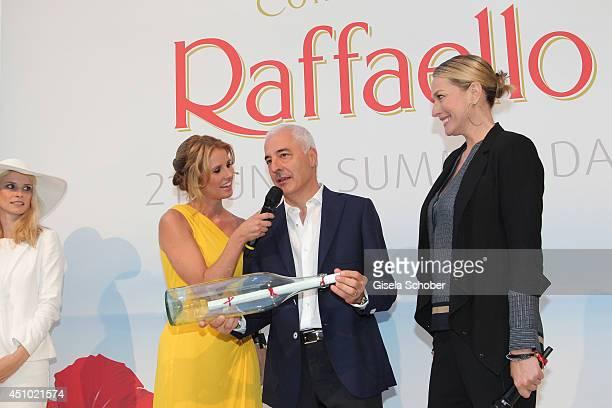 Mareile Hoeppner Carlo Vassallo Tatjana Patitz attend the Raffaello Summer Day 2014 at Kronprinzenpalais on June 21 2014 in Berlin Germany