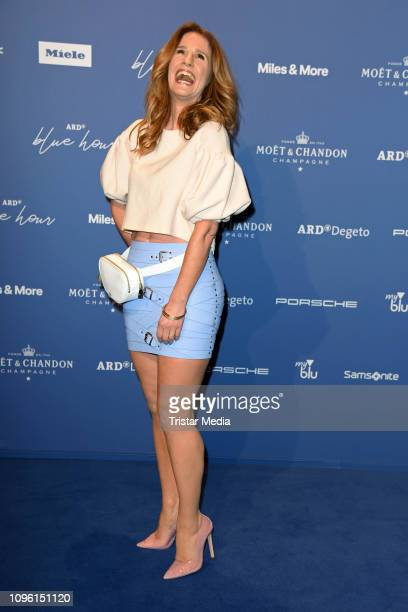Mareile Hoeppner during the Blue Hour Party hosted by ARD during the 69th Berlinale International Film Festival at Haus der Kommunikation on February...