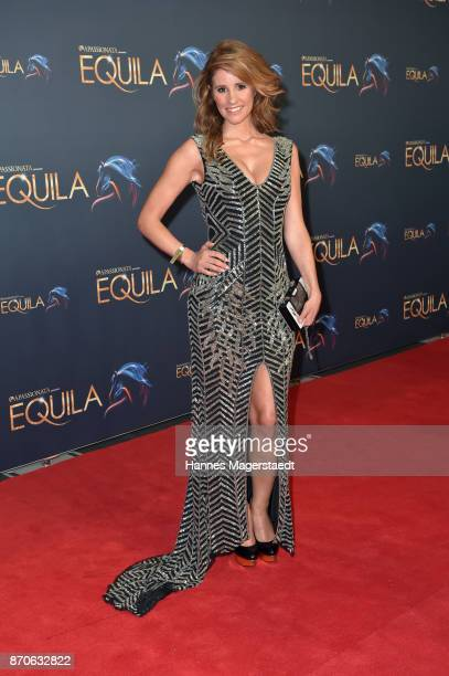 Mareile Hoeppner during the world premiere of the horse show 'EQUILA' at Apassionata Showpalast Muenchen on November 5 2017 in Munich Germany
