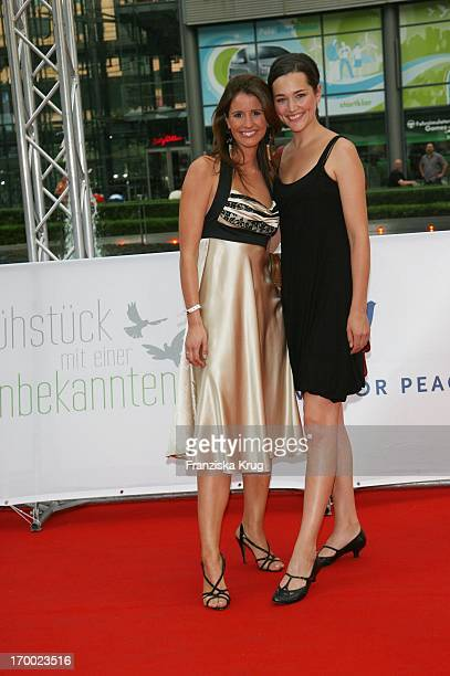 Mareile Höppner And Alissa Jung at The Premiere Of Sat1 film Breakfast With A Stranger in Berlin Cinestar