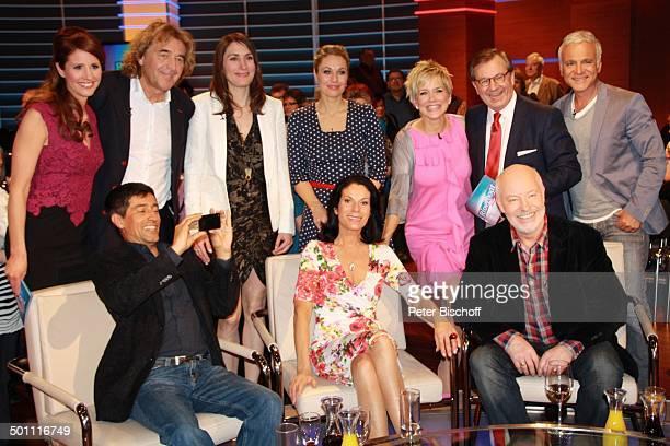 Mareile Höppner , Charly Brunner , Anja Kohl , Ruth Moschner , Inka Bause , Jan Hofer , Nino de Angelo , Ranga Yogeshwar , Simone Ritscher , Bill...