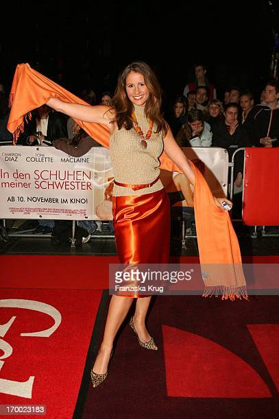 Mareile Höppner In Germany at Premiere In my sister's shoes in the In Des Cinestar Sony Center Berlin