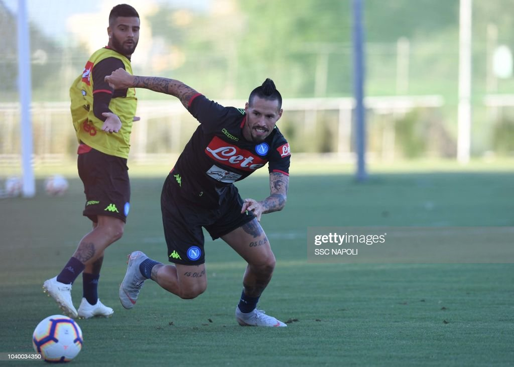 SSC Napoli Training Session