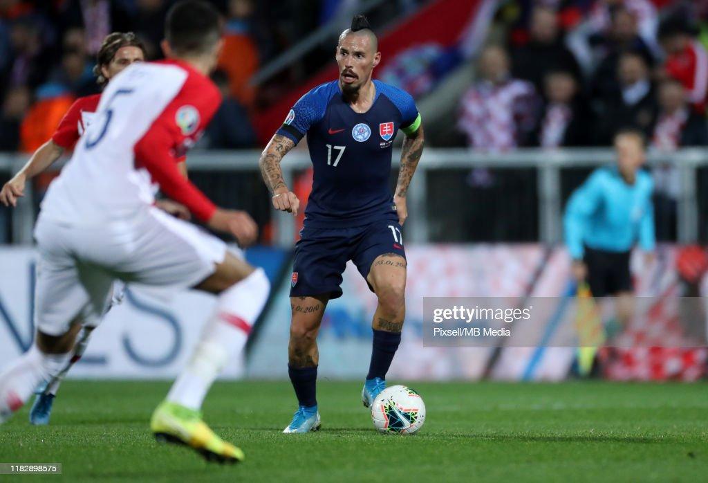 Croatia v Slovakia - UEFA Euro 2020 Qualifier : News Photo