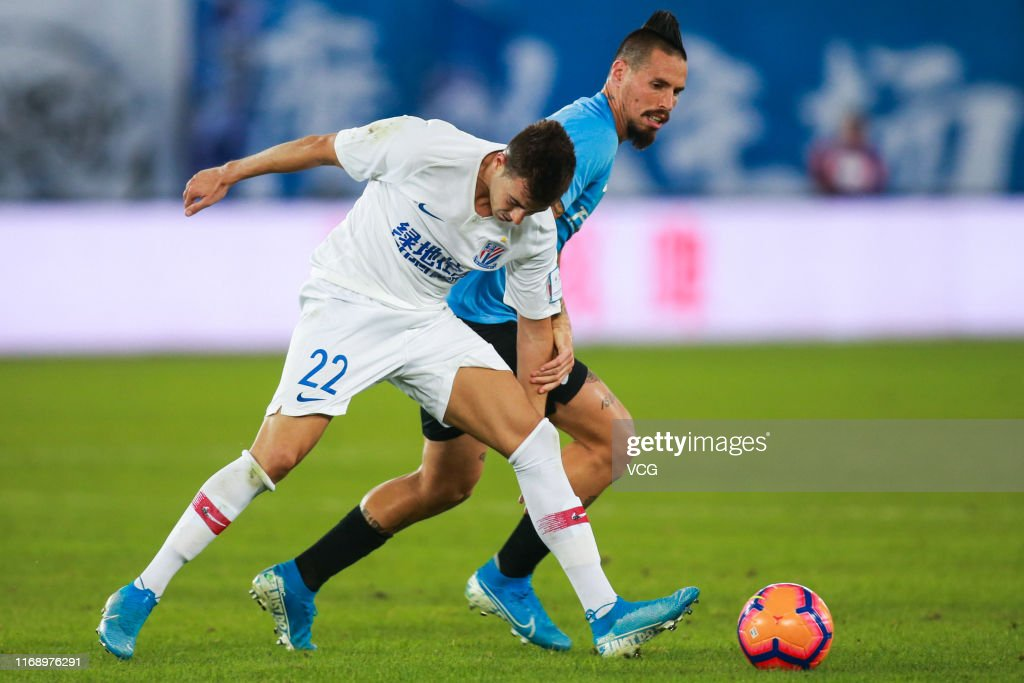 Image result for hamsik el shaarawy china