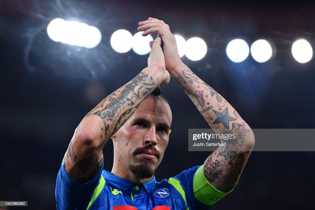 Paris Saint-Germain v SSC Napoli - UEFA Champions League Group C : News Photo