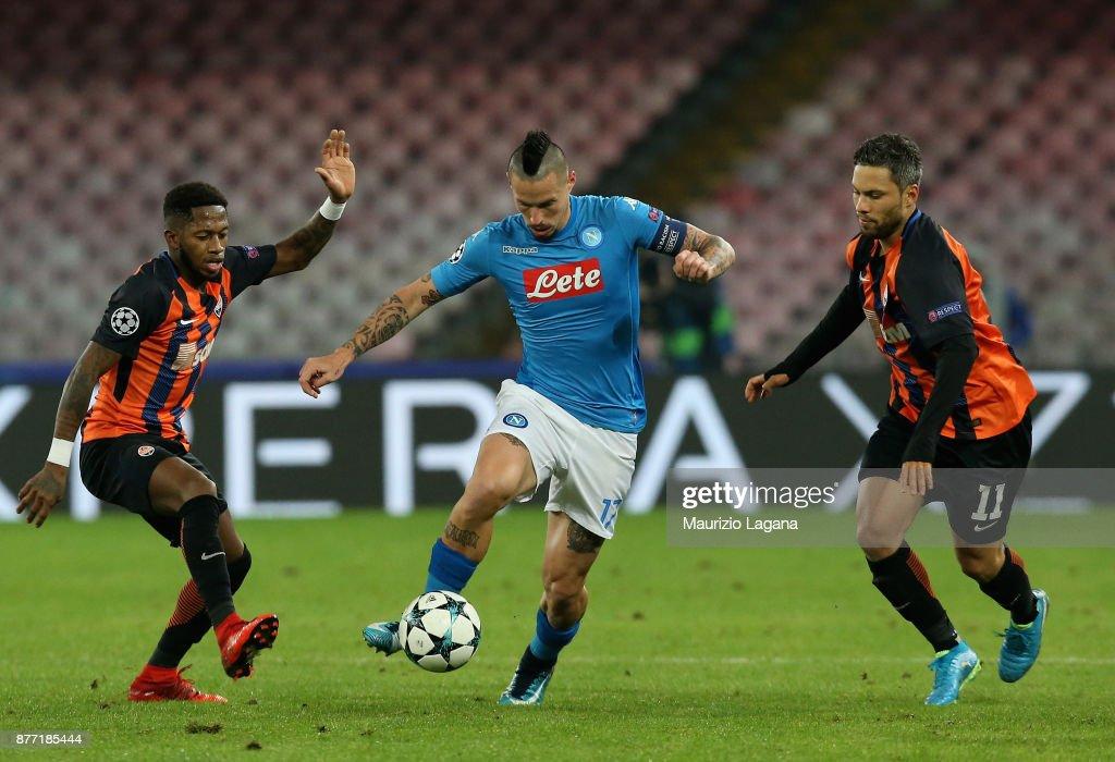 SSC Napoli v Shakhtar Donetsk - UEFA Champions League : News Photo