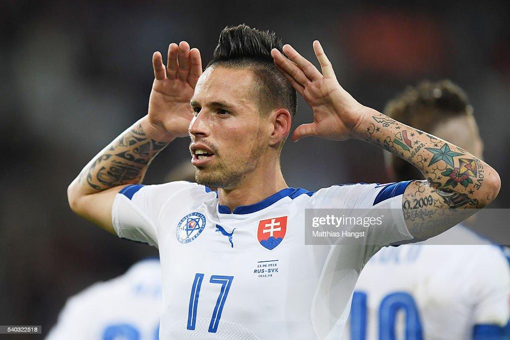 Russia v Slovakia - Group B: UEFA Euro 2016 : News Photo