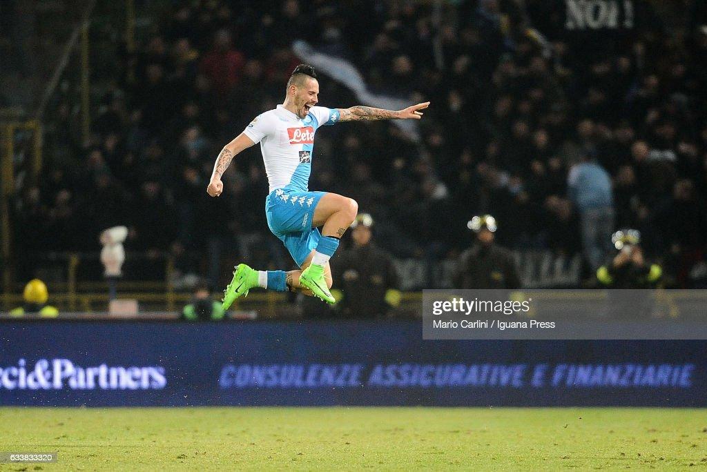 Bologna FC v SSC Napoli - Serie A : News Photo