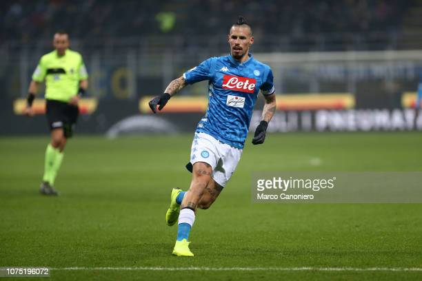 Marek Hamsik of Ssc Napoli in action during the Serie A football match between FC Internazionale and Ssc Napoli Fc Internazionale wins 10 over Ssc...