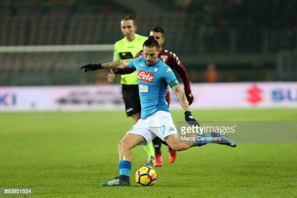 Marek Hamsik of Ssc Napoli in action during the Serie A football match between Torino Fc and Ssc Napoli Ssc Napoli wins 31 over Torino Fc