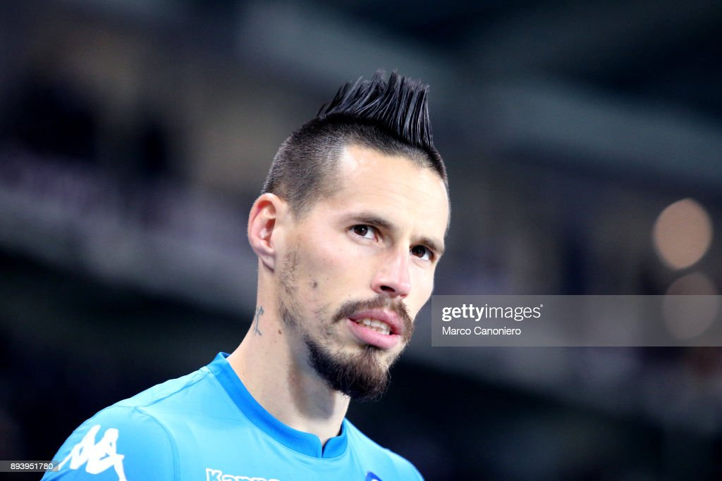 Marek Hamsik of Ssc Napoli looks on before the Serie A... : News Photo