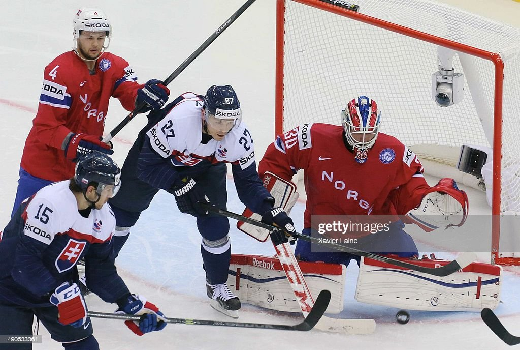 Slovakia v Norway - 2014 IIHF World Championship