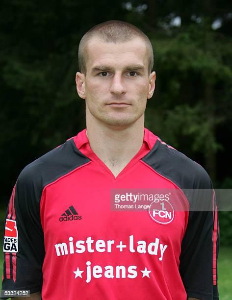 Marek Nikl during the Team Presentation of 1 FC Nuremberg for the Bundesliga Season 2005 2006 on July 1 2005 in Bad Woerishofen Germany