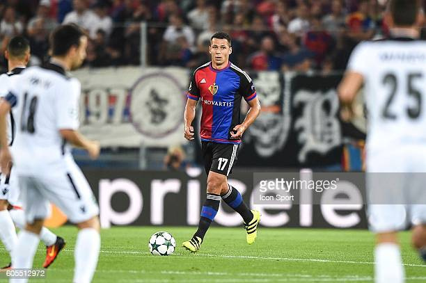 Marek Suchy of Basel during the Uefa Champions League match between Basel Fc and PFC Ludogorets Razgrad on September 13 2016 in Basel Switzerland