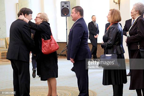 Marek ZirkSadowski is congratulated by his peers and colleagues on his new appointment as head of the Supreme Administrative Court Polish President...