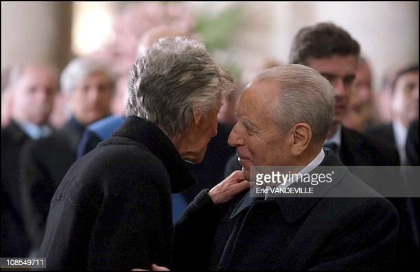Marella Agnelli and Italian President Carlo Azeglio Ciampi in Turin Italy on January 26th 2003