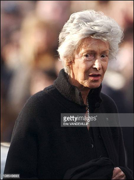 Marella Agnelli Giovanni's widow in Turin Italy on January 26th 2003