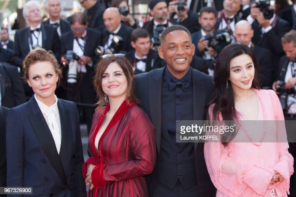 Maren Ade Agnes Jaoui Will Smith Fan Bingbing attend the 70th Anniversary of the 70th annual Cannes Film Festival at Palais des Festivals on May 23...
