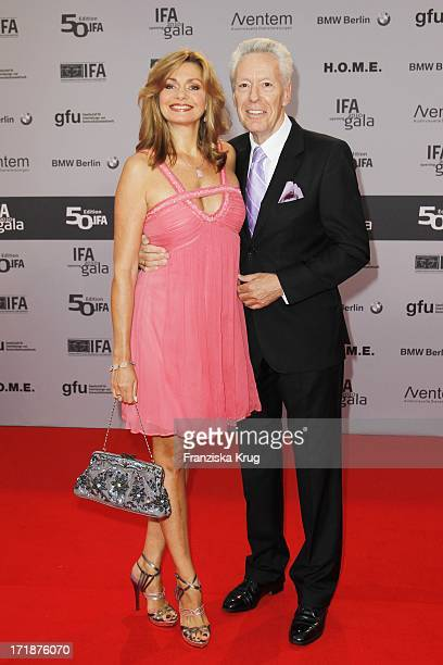 Maren Gilzer and Egon F Freiheit at The Ifa Opening Gala at the Palais am Funkturm in Berlin