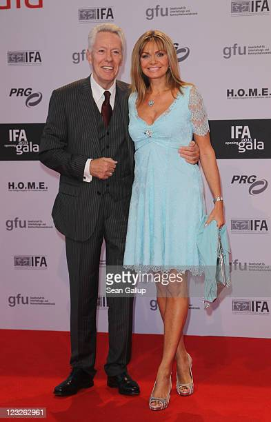 Maren Gilzer and Egon Freiheit attend the IFA 2011 Opening Gala at Messe Berlin on September 1, 2011 in Berlin, Germany.