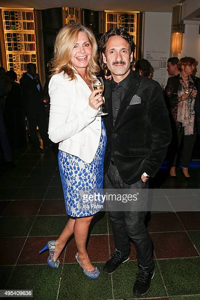 Maren Gilzer and Falk-Willy Wild attend the 1st Act Now Jugend Award at Friedrichstadt-Palast on November 2, 2015 in Berlin, Germany.