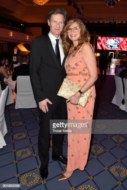 Maren Gilzer and Harry Kuhlmann attend the 117th Press Ball on January 13 2018 in Berlin Germany