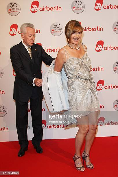 "Maren Gilzer And your Egon F. Freiheit at the ""30 Years of Air Berlin"" Gala In Estrel Hotel in Berlin on 280409"