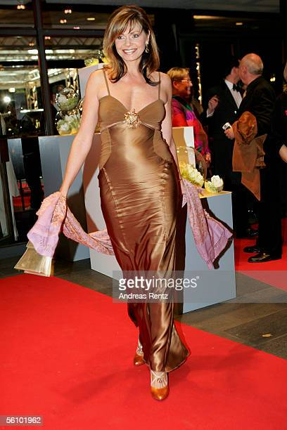 Maren Gilzer arrives at the AIDS Benefit Opera Gala on November 5, 2005 in Berlin Germany