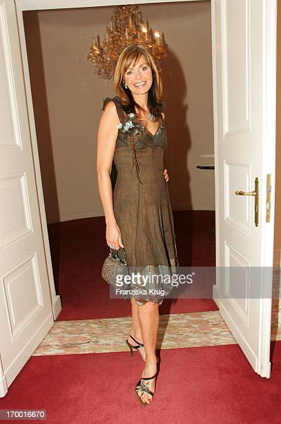 "Maren Gilzer at The Premiere Of The Musicals ""The 3 Musketeers"" at Theater des Westens in Berlin.."